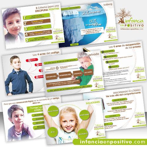 Colección de carteles de Disciplina Positiva