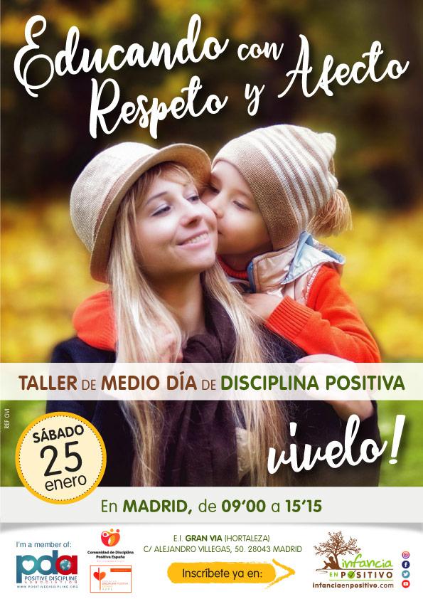 Taller de disciplina positiva para madres y padres