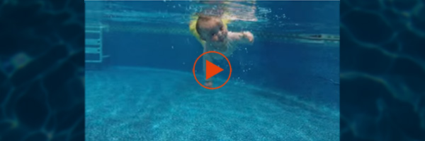 [VIDEO] Amazing! 7Months Old & Swimming!