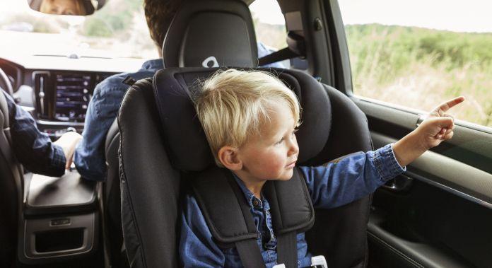Sistema de Retención Infantil para automóvil