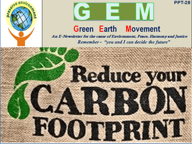 Gem ppt-28- carbon footprints
