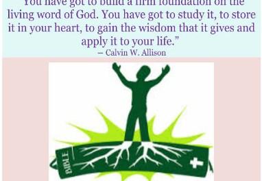 Bible study part 1