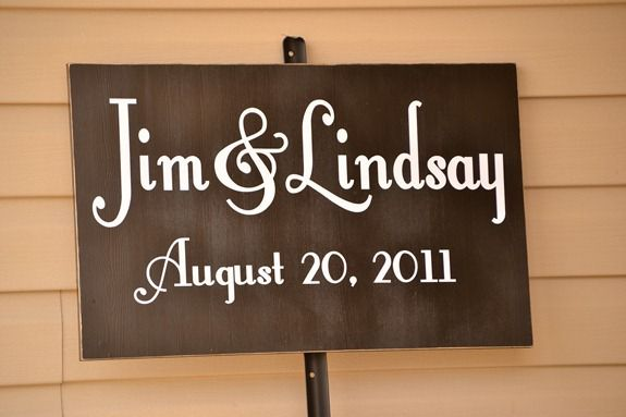 personalized wedding sign (1)