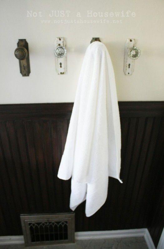 Perfect 1. As Handy Towel Hooks
