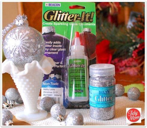 Glitter supplies