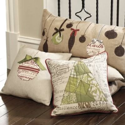 ballard designs ornament pillow