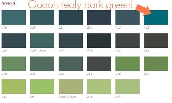 rit dye greens