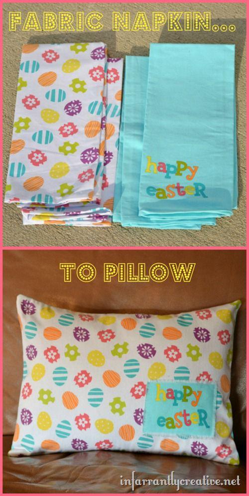 napkin-to-pillow