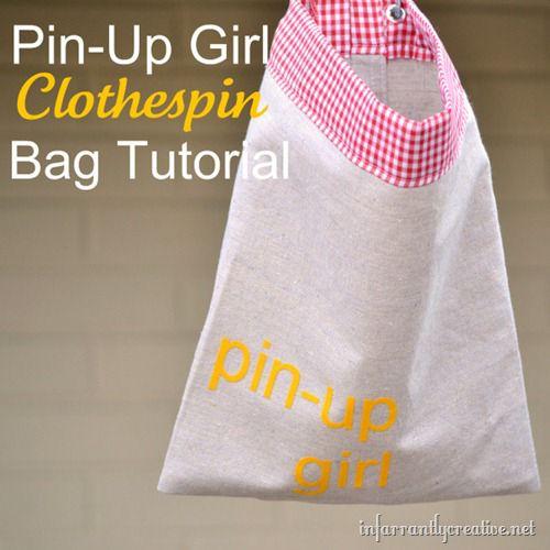 clothespin-bag