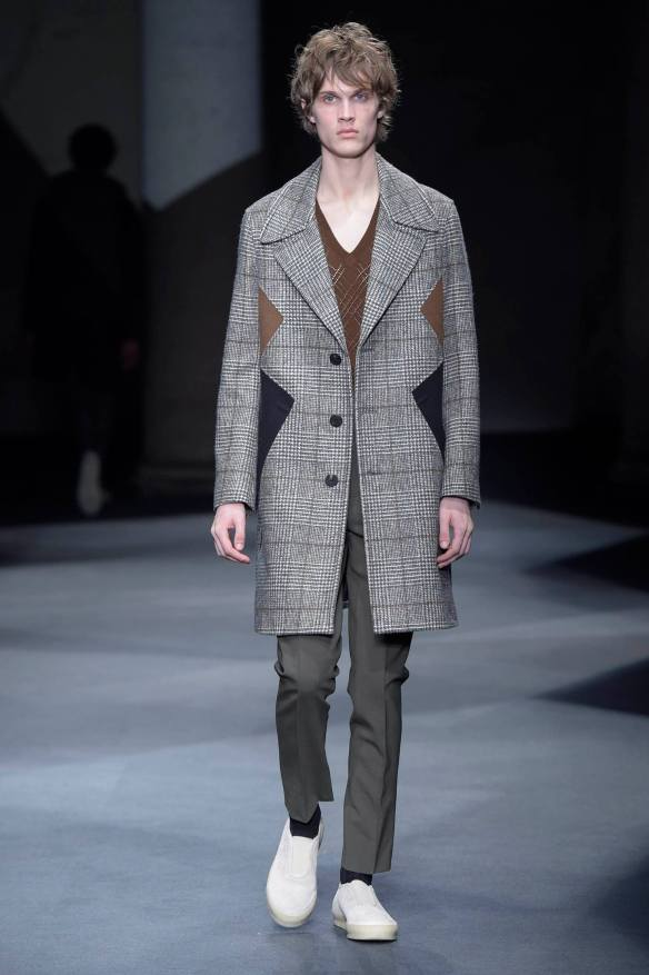 Neil Barrett aw16 coat infashionity menswear fashion blog