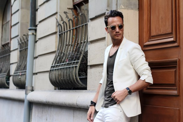 infashionity menswear fashion blog henri balit photography outfit white blazer swiss fashion blog streetstyle