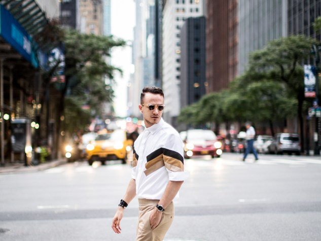 infashionity menswear fashion blog swiss henri balit nyc neil barrett graphic shirt ss17