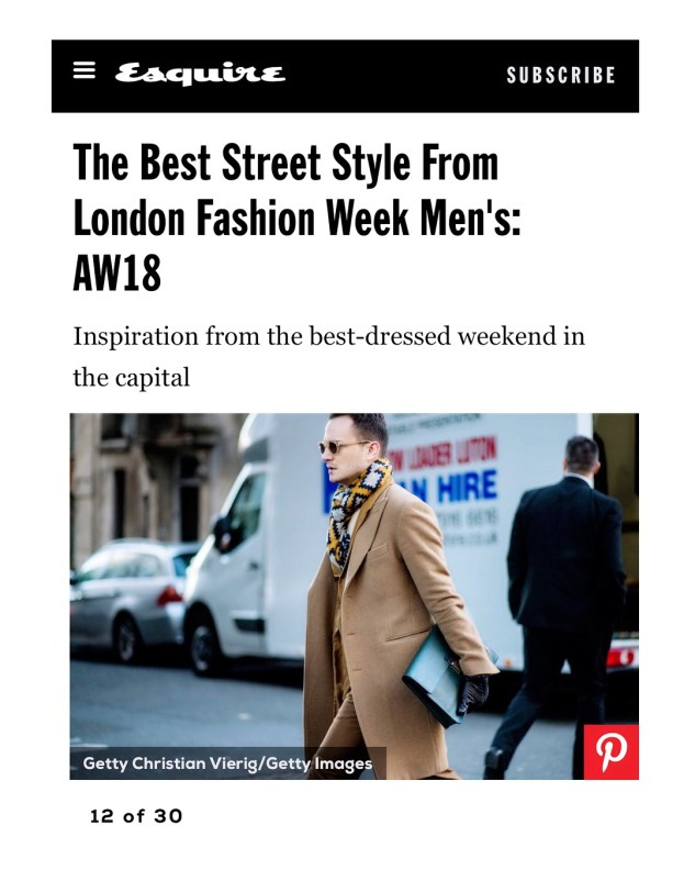 henri balit infashionity menswear fashion blog street style london fashion week men january 2018 esquire uk