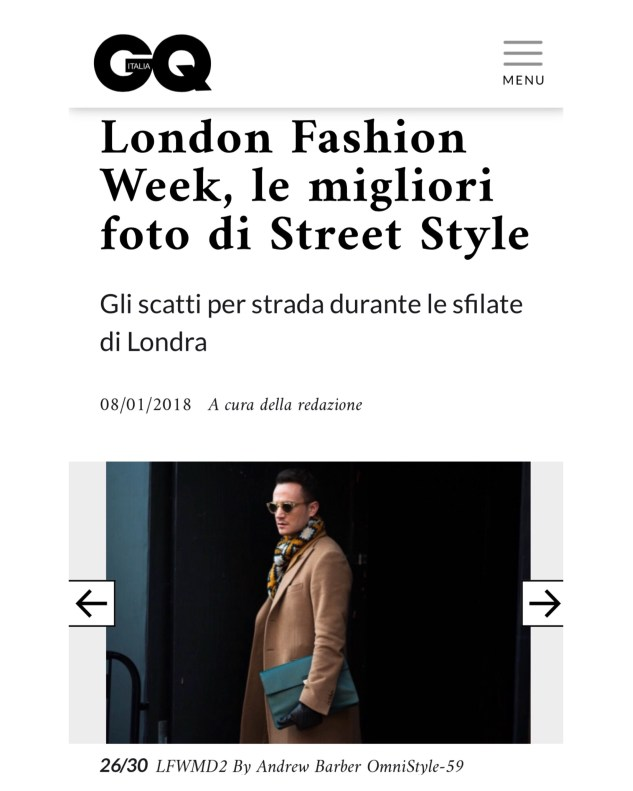 henri balit infashionity men's fashion blog london fashion week men street style january gq italia 2018