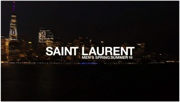 saint laurent menswear ss19 review