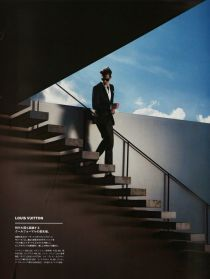 louis vuitton stairs editorial