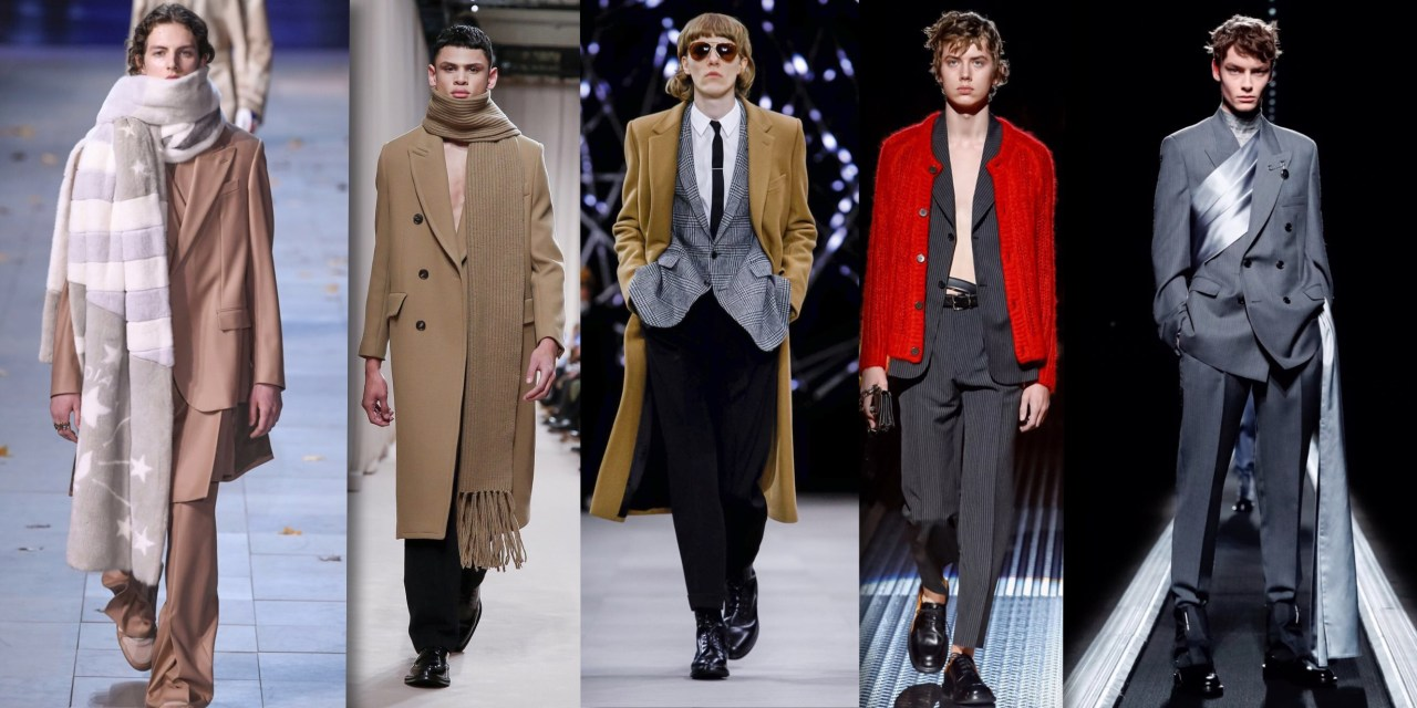 menswear fall winter 19 trends report infashionity online magazine