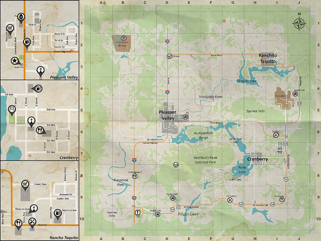 New High Quality H1z1 Map Infection The Survival Podcast