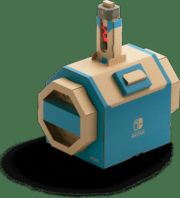 Nintendo Labo Vehicle Kit Toy Con Submarine