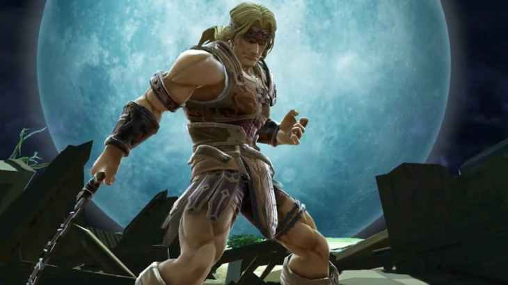 Simon Belmont as he appears in Super Smash Bros Ultimate
