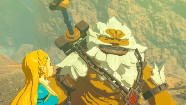 Breath of The Wild 2 Goron Daruk