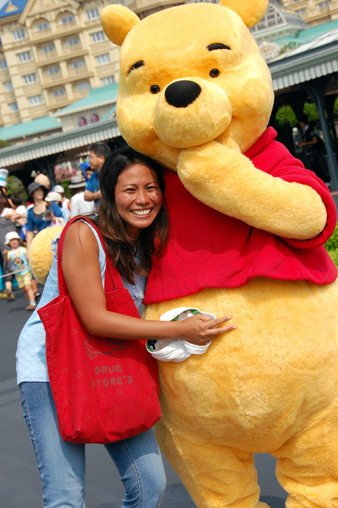 With Pooh!