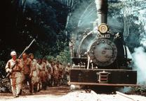 """Der Bahn der """"Death Railway"""" erfordert Willen und Stärke"""