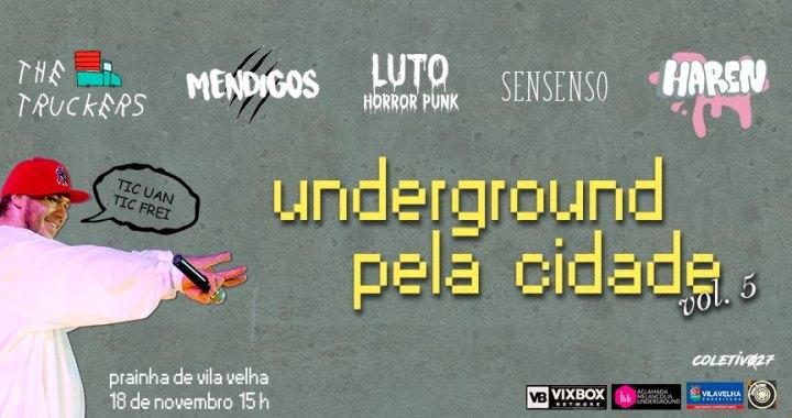 Underground Pela Cidade chega à Prainha