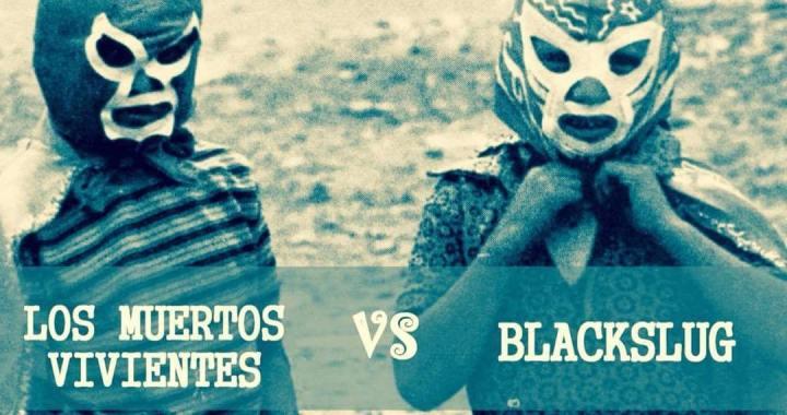 Blackslug e Los Muertos Vivientes no Motor Rockers