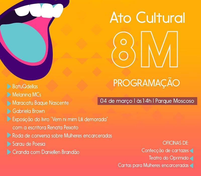 ato-cultural-8M-divulgação-facebook