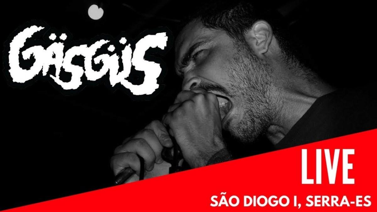 """Vídeo: Gäsgüs toca a música """"Tudo Errado"""" no Underground Pela Cidade"""