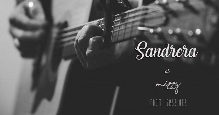 Março é o mês de Sandrera na Mizzy Room Sessions