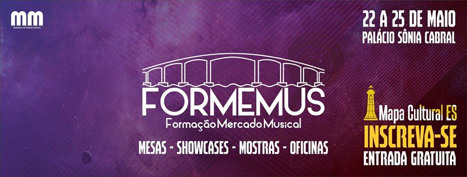 Formemus: Fórum sobre mercado musical chega ao Espírito Santo em Maio