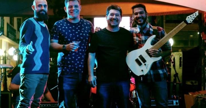 Vídeo: Terra Convexa toca nova música no Festival de Inverno de Domingos Martins