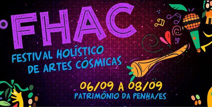 8º Festival Holístico de Artes Cósmicas está de volta! Confira sua programação