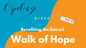 Sparkle of Hope w/Opulenza for the Detroit, MI Walk of Hope @ Virtual Opulenza Sterling Silver Jewery Facebook Event