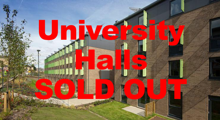 HALLS SOLD OUT