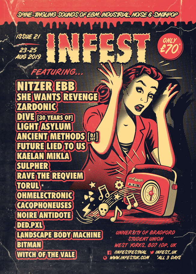 Spine-Tingling Sounds of INFEST