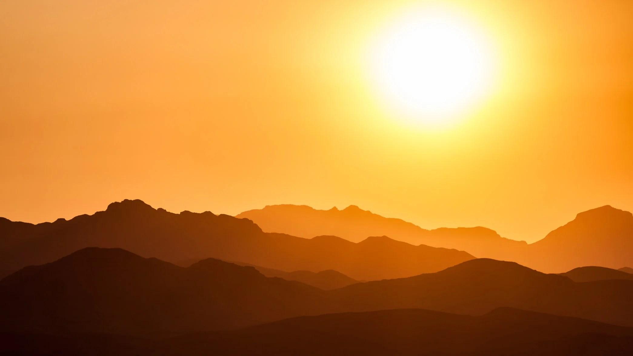 Gebet zum Sonnenaufgang