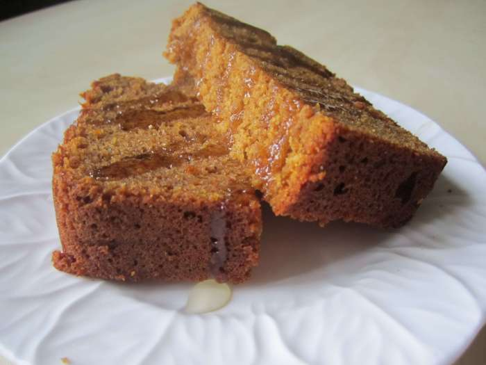 Maple Pumpkin Spice Bread | infinebalance.com Recipe