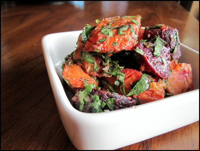 Roasted Beet & Carrot Salad sesame salads recipe food carrots beets