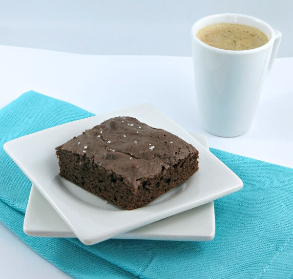 Decadent Mocha Brownies mocha dark-chocolate coffee chocolate brownies