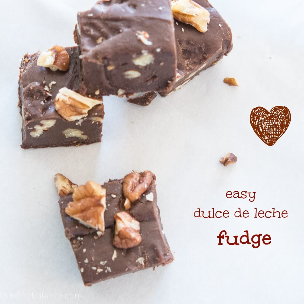 Easy Dulce De Leche Fudge valentine s day gluten-free fudge easy dulce de leche chocolate
