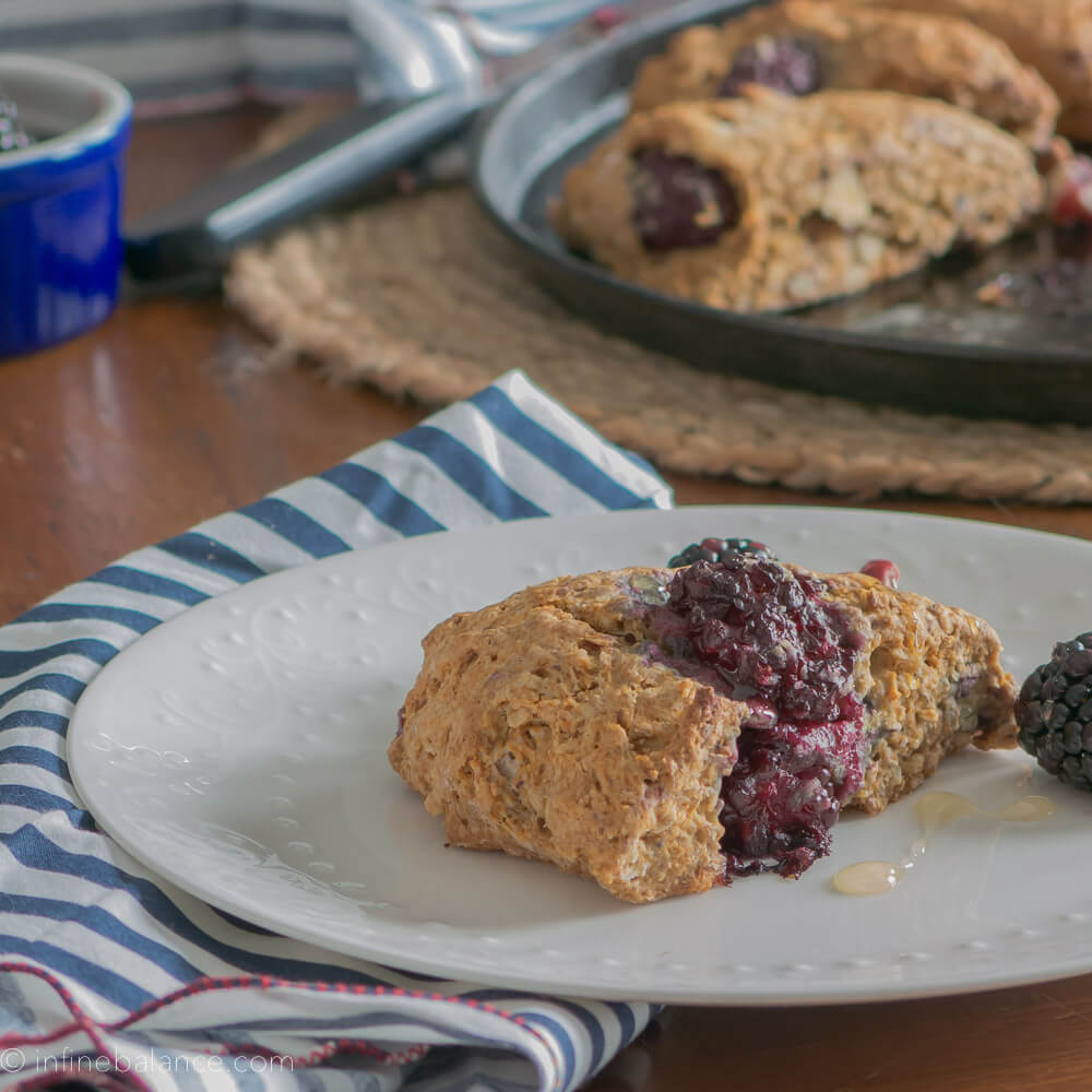 Blackberry Red Walnut Scones {#vegan}