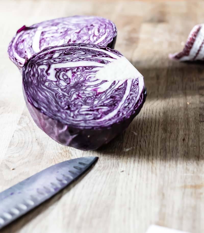 Spiced Pickled Red Cabbage | infinebalance.com #recipe #vegetables