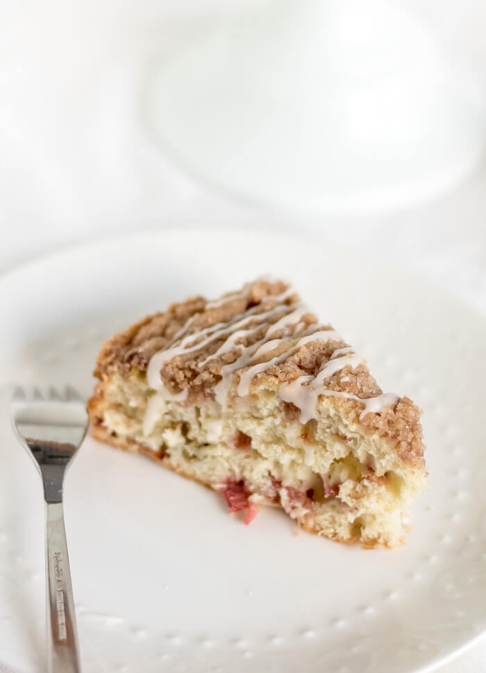 Cinnamon Rhubarb Coffee Cake sunday summer rhubarb cuteness cinnamon cake brunch Breakfast