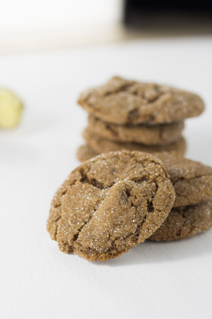 Ginger Molasses Cookies | infinebalance.com #recipe