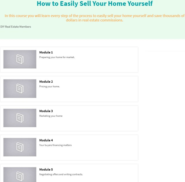 Everything you need to know to sell your home yourself and save thousands of dollars.