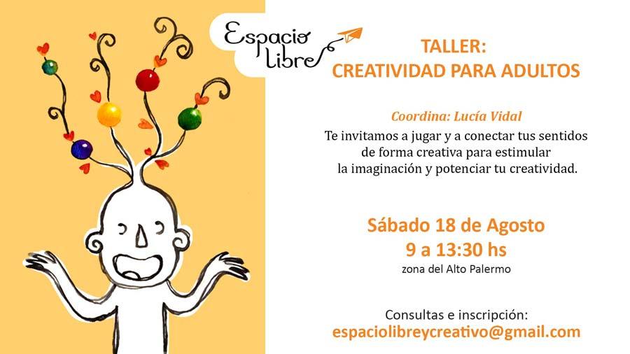 Taller de creatividad para adultos
