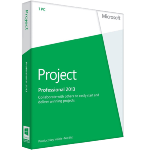 Microsoft Project Professional 2013 Para 3 Pc RETAIL MFR # H30-05445